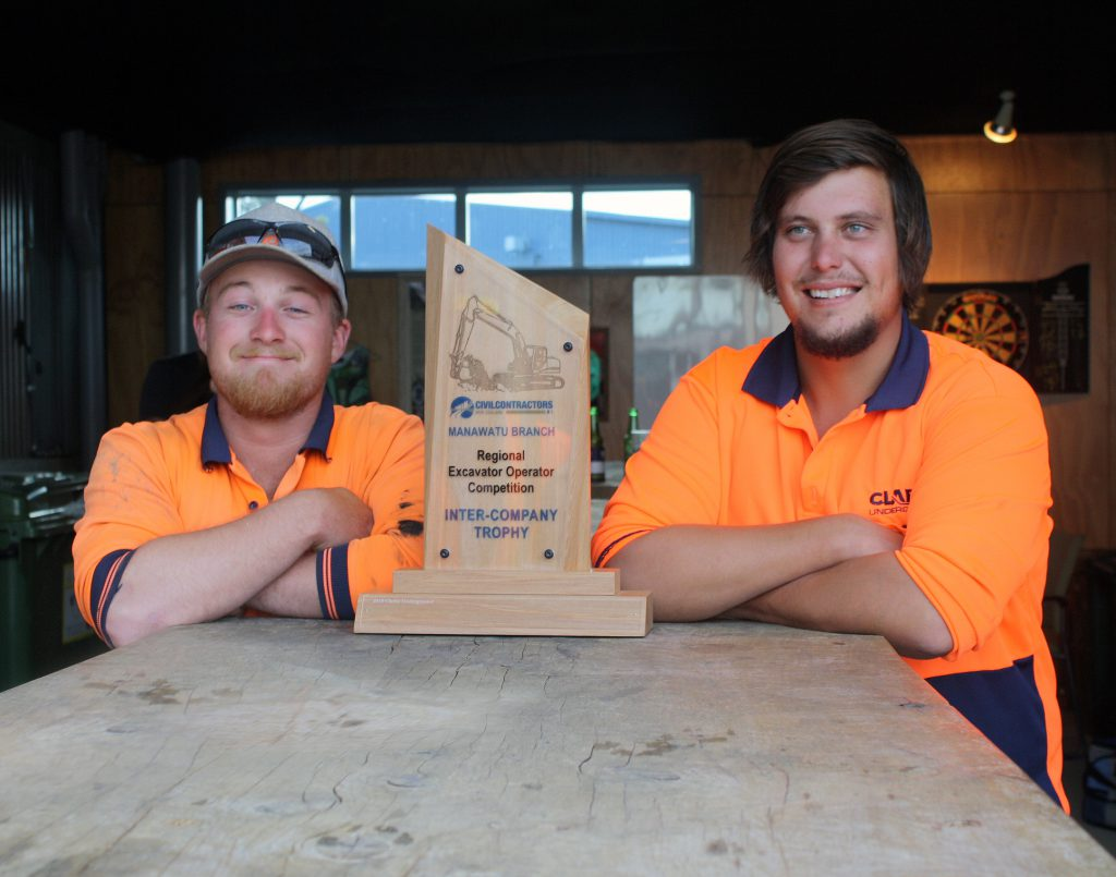Regional Excavator Operator Competition Trophy
